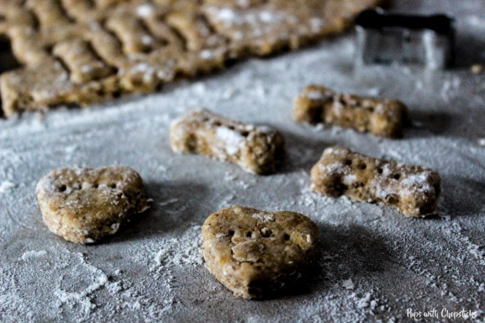 6 Ingredient Homemade Dog Treats